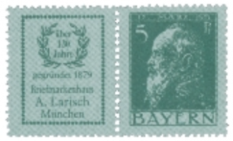 Kirstein-Larisch Briefmarken-Tradition seit 1879