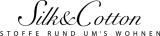 Logo Silk & Cotton Stoffe + Dekostoffe