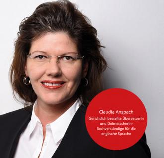 Claudia Anspach Fachübersetzungen
