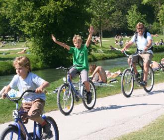 Sie BRAUCHEN ein Fahrrad um alles in einem oder zwei Tage von München zu sehen!