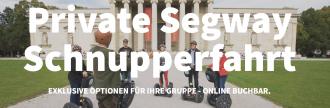 Segway Schnupperfahrt Tour