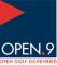 Logo OPEN.9 Golf Eichenried