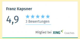 Franz Kapsner ist ein ausgezeichneter Ratgeber für Sie