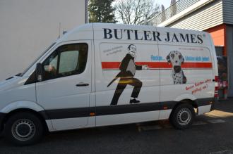 Butler James - Die Reinigung im Münchner Osten