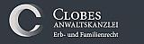 Logo Clobes Anwaltskanzlei