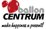 Logo ballon Centrum Partyzubehör
