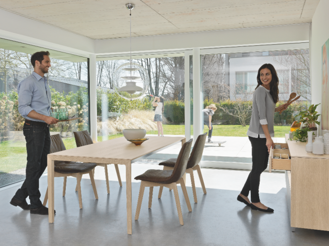 team 7 flagship store m nchen wohnen und leben m nchen auf. Black Bedroom Furniture Sets. Home Design Ideas