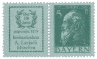Kirstein-Larisch Briefmarken-Tradition seit 1879