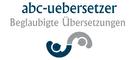 Logo abc-uebersetzer, beglaubigte