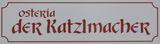 Logo Der Katzlmacher - Osteria
