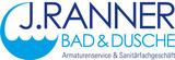Logo J. RANNER Bad & Dusche