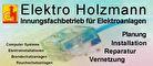Logo Elektro Holzmann Elektriker FFB