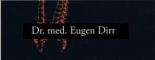 Logo Dirr, Eugen Dr. med.