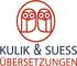 Logo Kulik & Suess Übersetzungen