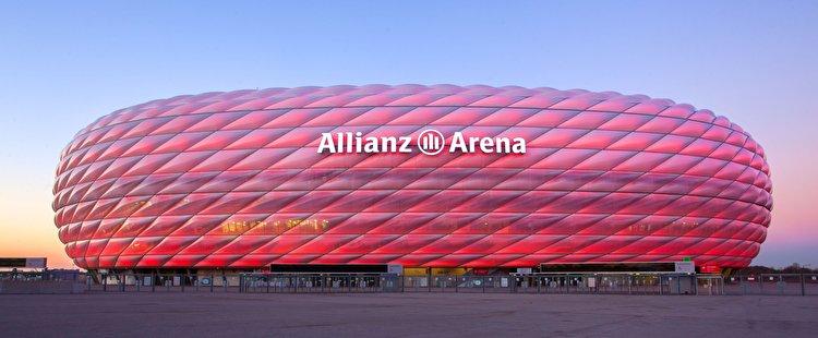 Allianz Arena Nordtribüne Mittelrang