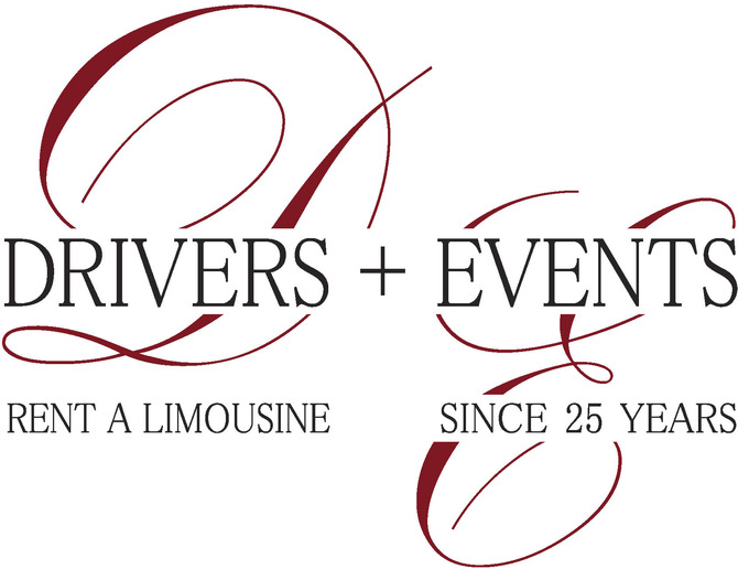 Logo Drivers+Events rent limousines