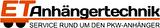 Logo ET-Anhängertechnik