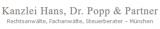 Logo Hans, Dr. Popp & Partner