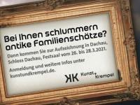 """Kunst + Krempel"" im Schloss Dachau"