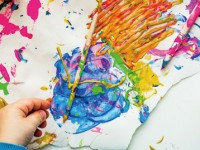 Kreativ-Stunde Malen/Zeichnen/Basteln für Kinder von 4 - 12 Jahren