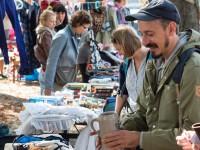 Flohmarkt am Giesinger Grünspitz