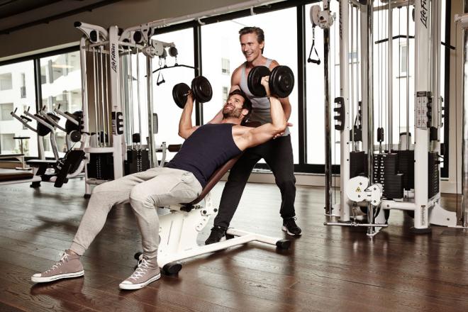 Mann im fitnessstudio kennenlernen