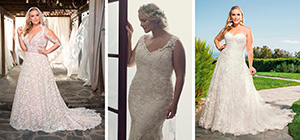 White Silhouette | The Curvy Bride