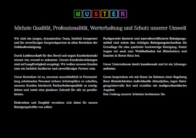 Muster Gebäudereinigung Gebäudereinigung München Auf Muenchende