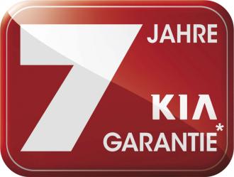 Das Highlight bei Kia: 7-Jahre-Herstellergarantie